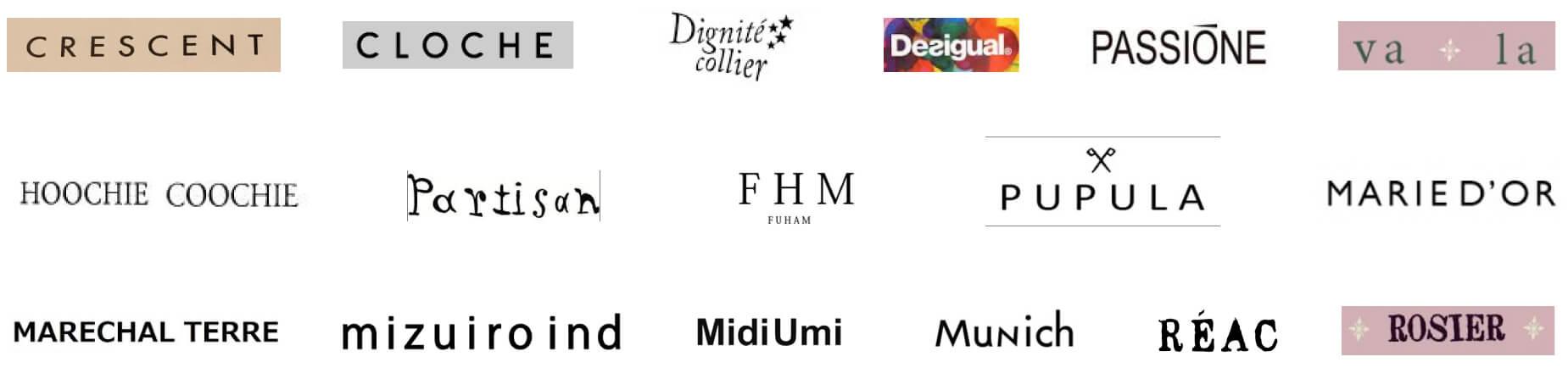 サザンクロスで取り扱うブランドは30社以上。