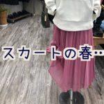春物特集①スカートの春ッ